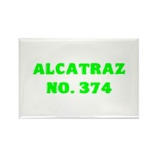Alcatraz No. 374 Rectangle Magnet