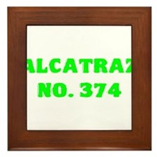 Alcatraz No. 374 Framed Tile