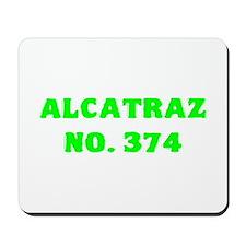 Alcatraz No. 374 Mousepad