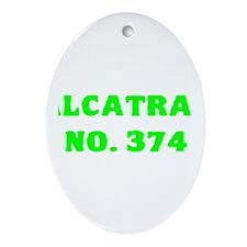 Alcatraz No. 374 Ornament (Oval)