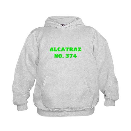 Alcatraz No. 374 Kids Hoodie