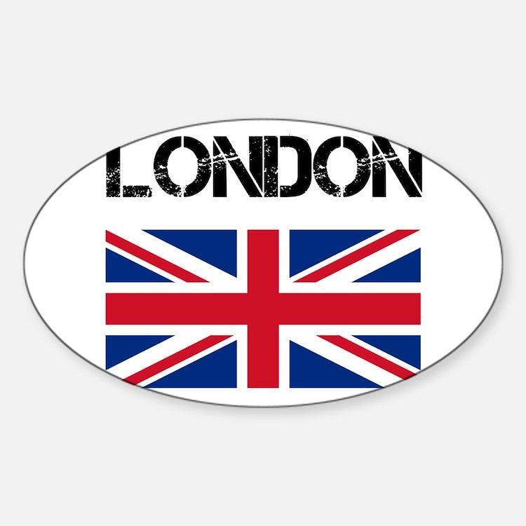London Union Jack Decal