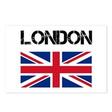 London Union Jack Postcards (Package of 8)