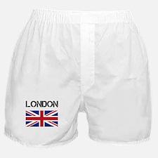 London Union Jack Boxer Shorts