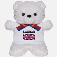 London Union Jack Teddy Bear