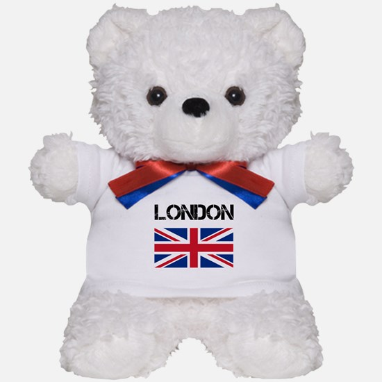 London Union Jack Teddy Bear