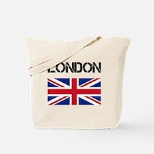 London Union Jack Tote Bag