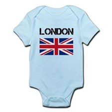 London Union Jack Onesie