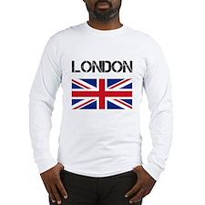 London Union Jack Long Sleeve T-Shirt