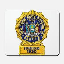 New York Parole Officer Mousepad