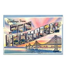 Cute San francisco Postcards (Package of 8)