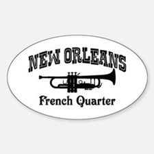 New Orleans French Quarter Decal