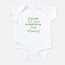 My Irish Mommy (Handwritten) Infant Bodysuit