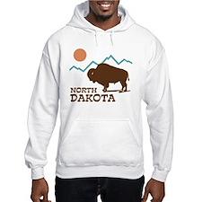 North Dakota Hoodie Sweatshirt
