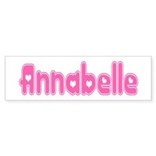 """Annabelle"" Bumper Bumper Sticker"