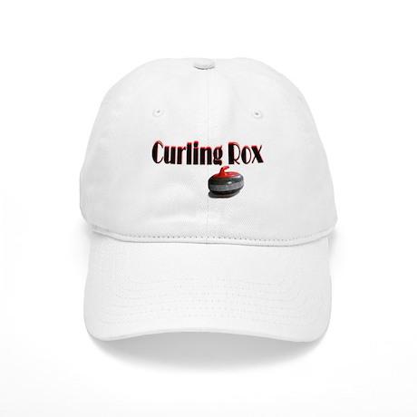 Curling Rox Cap