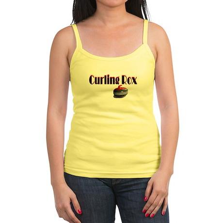 Curling Rox Jr. Spaghetti Tank