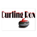 Curling Rox Postcards (Package of 8)