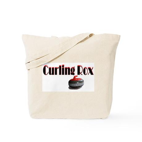 Curling Rox Tote Bag