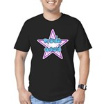 ASL Pornstar Men's Fitted T-Shirt (dark)