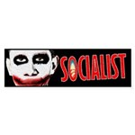 Obama Socialist Sticker (Bumper)