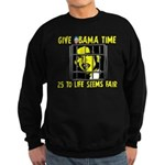 Give Obama Time Sweatshirt (dark)