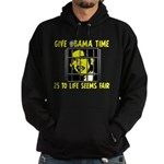 Give Obama Time Hoodie (dark)