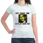 Give Obama Time Jr. Ringer T-Shirt
