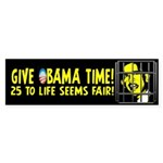 Give Obama Time Sticker (Bumper 10 pk)
