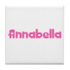 """""""Annabella"""" Tile Coaster"""