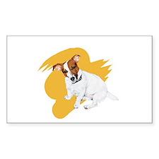 JRT Orange Burst Logo Decal