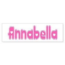 """Annabella"" Bumper Bumper Sticker"