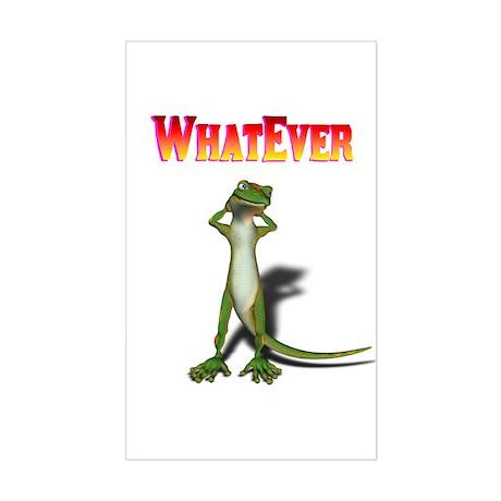 WhatEver Sticker (Rectangle)