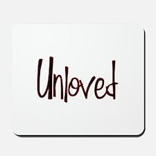 Unloved Mousepad