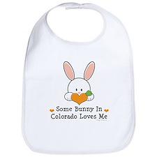 Some Bunny In Colorado Loves Me Bib