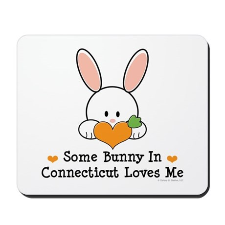 Some Bunny In Connecticut Mousepad