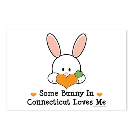 Some Bunny In Connecticut Postcards (Package of 8)