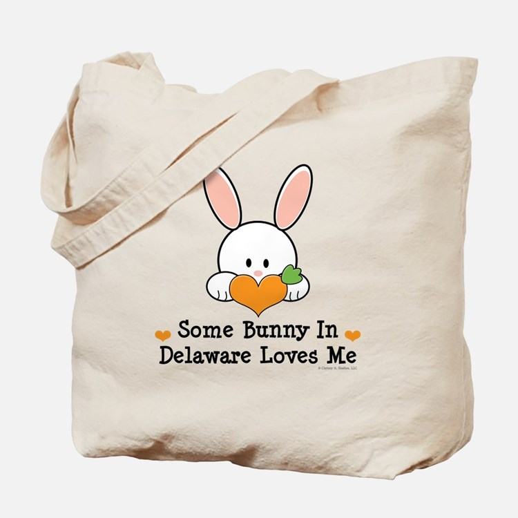 Some Bunny In Delaware Loves Me Tote Bag