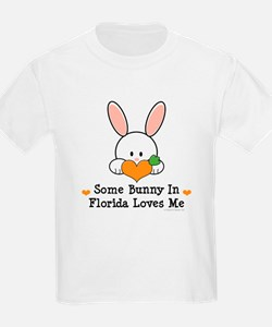 Some Bunny In Florida Loves Me T-Shirt