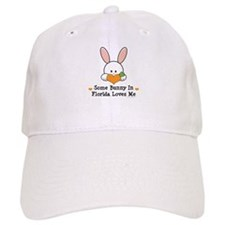 Some Bunny In Florida Loves Me Baseball Cap