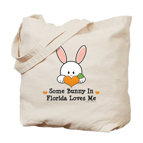 Some Bunny In Florida Loves Me Tote Bag
