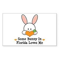 Some Bunny In Florida Loves Me Decal