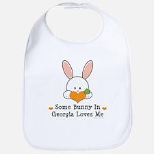 Some Bunny In Georgia Loves Me Bib