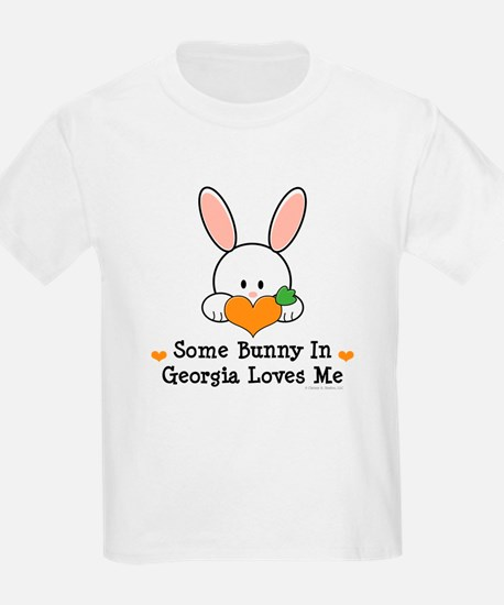 Some Bunny In Georgia Loves Me T-Shirt