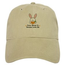 Some Bunny In Georgia Loves Me Baseball Cap