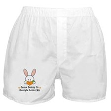 Some Bunny In Georgia Loves Me Boxer Shorts