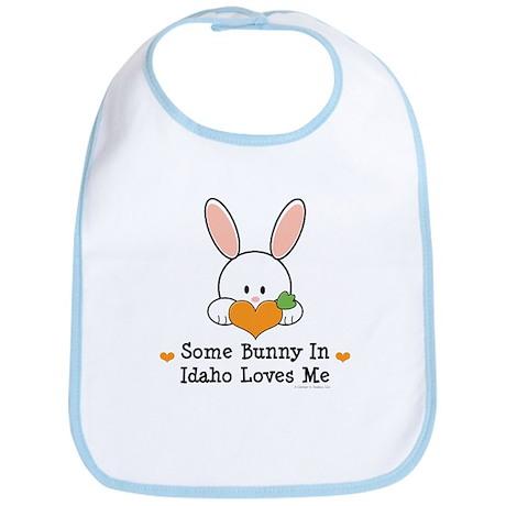 Some Bunny In Idaho Loves Me Bib