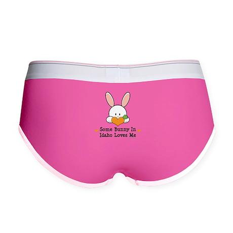 Some Bunny In Idaho Loves Me Women's Boy Brief