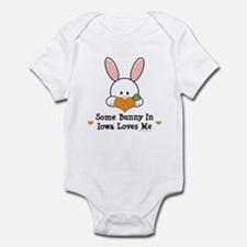 Some Bunny In Iowa Loves Me Infant Bodysuit