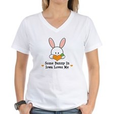 Some Bunny In Iowa Loves Me Shirt